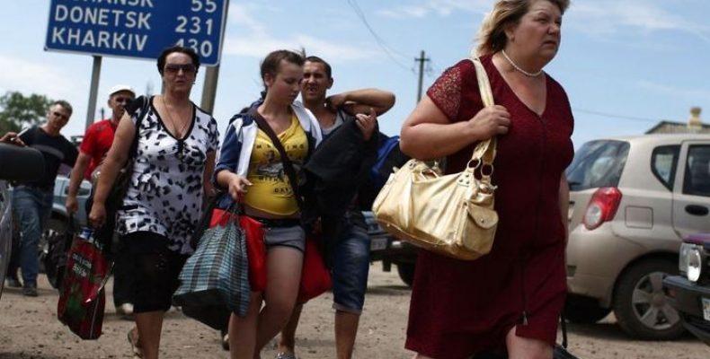 Где живут переселенцы из Донбасса: инфографика