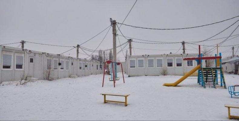 Три гуртожитки для вимушених переселенців з Донецької та Луганської областей планується побудувати на місці модульного містечка в Харкові.