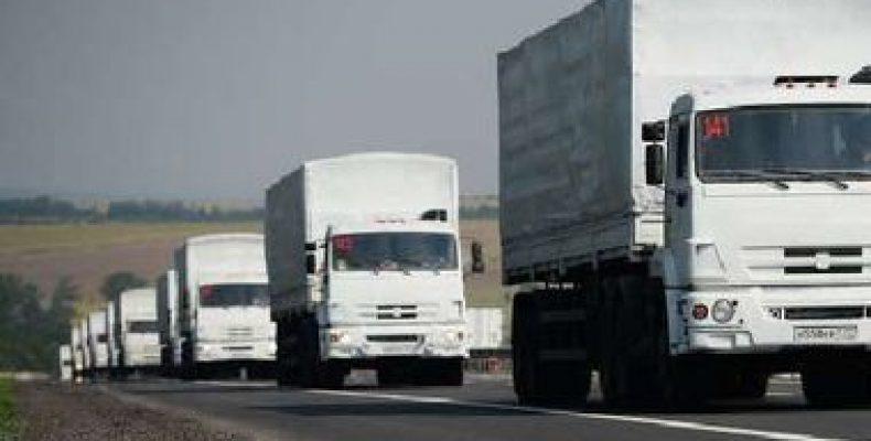 Россия снова везет «гумконвой» на оккупированные территории Украины