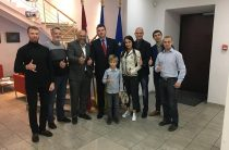 Встреча активистов общественников, участников АТО, переселенцев с Чрезвычайным и Полномочным послом Латвийской Республики в Украине