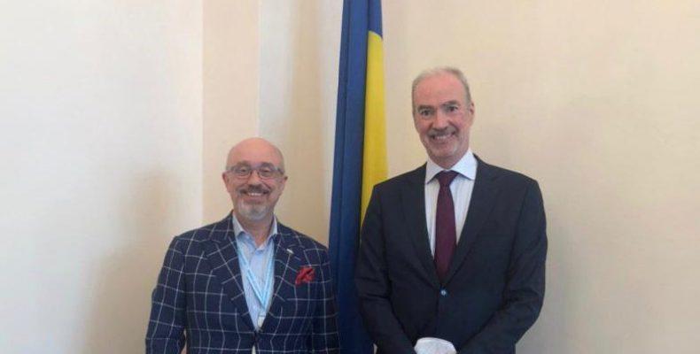 С Послом Франции обсудили совместные проекты на Донбассе