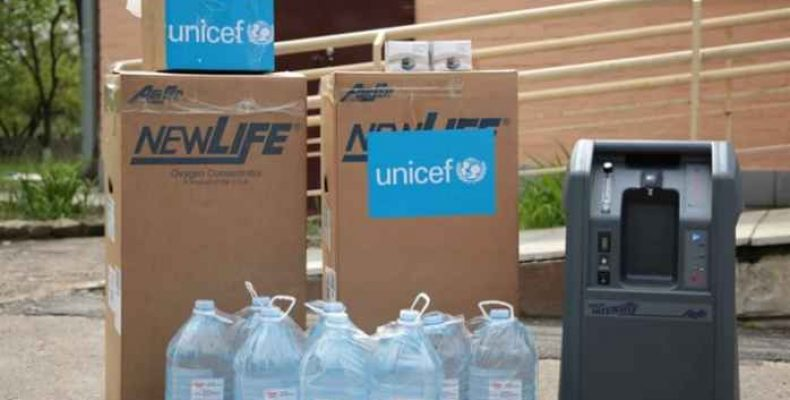 Для борьбы с пандемией: ЮНИСЕФ доставил помощь больницам Луганской области