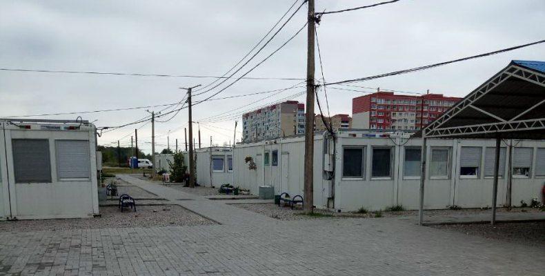 Модульный городок для ВПЛ в Запорожье без света