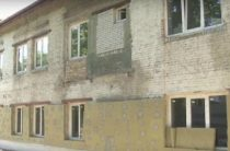 В Павлограде реконструируют здание общежития на Литейной.