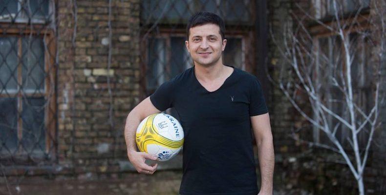 Владимир Зеленский сыграет в футбол с переселенцами