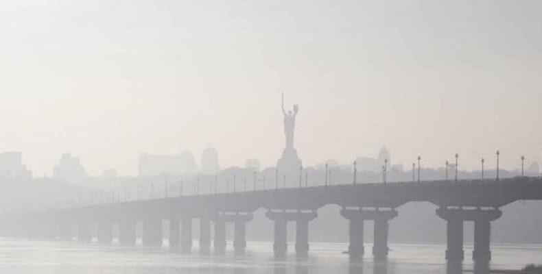 Воздух в Киеве – самый грязный в мире