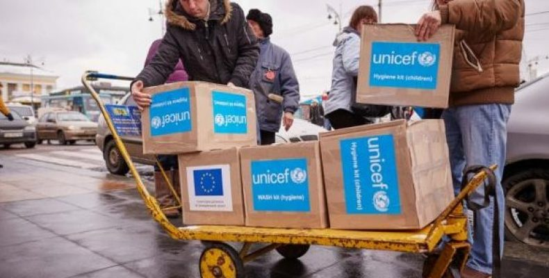 139 тонн гуманитарного груза от Управления Верховного комиссара ООН по делам беженцев.