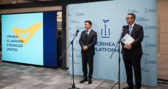 В офисе Крымской платформы работают переселенцы — Кориневич