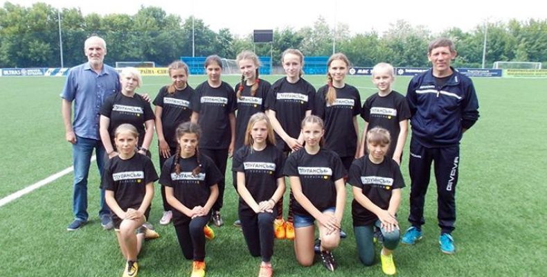 Участие женской футбольной команды «Луганочка» в чемпионате Украины может не состояться