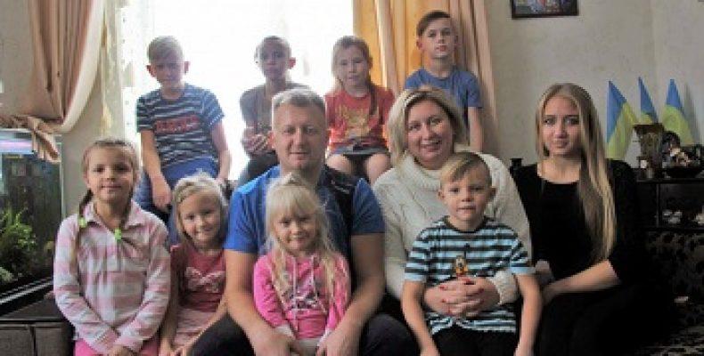 Многодетную семью ВПЛ выселяют из ранее подаренного дома.