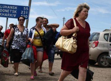 Переселенцы из Донецка остались без жилья