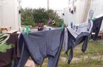Жилье для ВПЛ: В модульном городке 16 многодетных семей на грани выселения