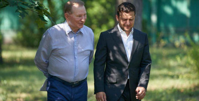 Кучма ушел из контактной группы в Минске – Офис президента