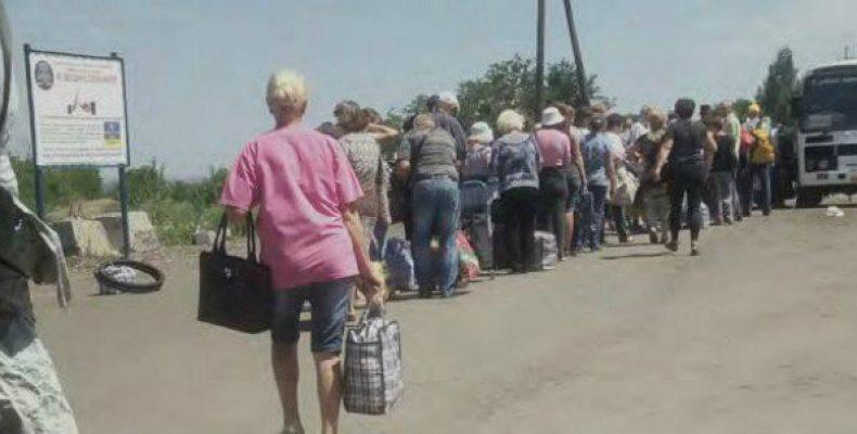 Переселенцы с Донбасса: данные известные и неизвестные