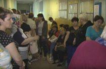 Духота и закрытые туалеты: в Пенсионном фонде Мариуполя снова очереди