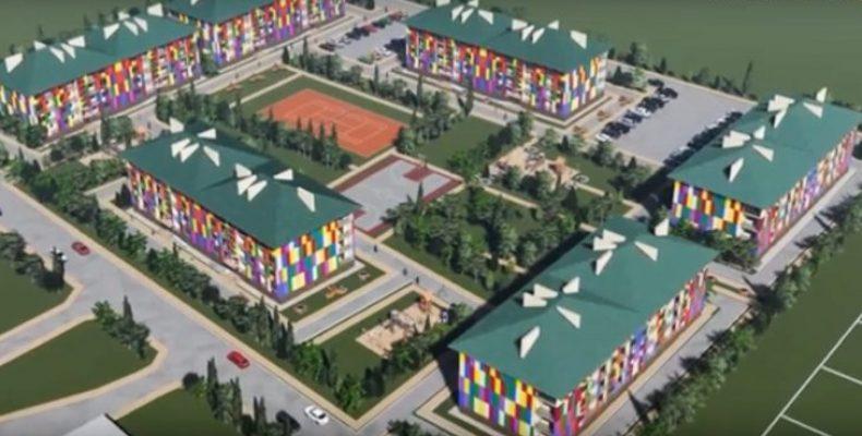 На Херсонщині хочуть побудувати квартал для переселенців та учасників АТО/ООС