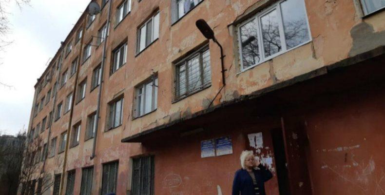 Общежития в Херсоне, в которых живут переселенцы, в очень плохом состоянии