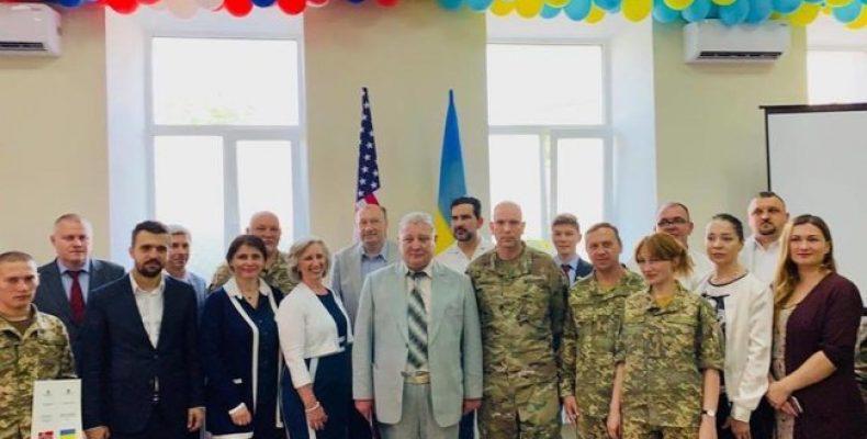 Центр психологической и медпомощи для ветеранов и переселенцев открыли при поддержке США в Одессе