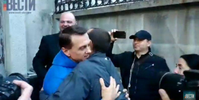 Тимофея Нагорного выпустили из СИЗО
