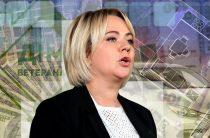Министр Коляда выписала себе премию 80 тыс. гривен, матпомощь — 20 тыс. и еще 20 тыс. оздоровительных