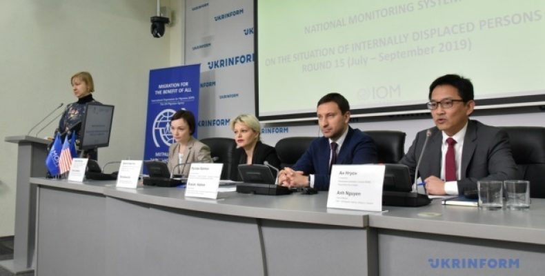 Презентація результатів дослідження щодо ситуації з внутрішньо переміщеними особами в Україні