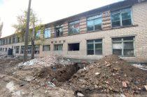 В Мелитополе харьковчане строят квартиры для переселенцев
