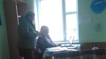 В Марьинке открыли социальный хаб
