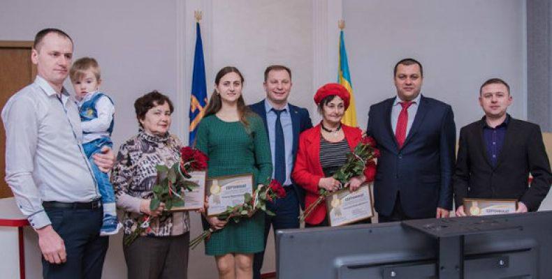 Переселенцы и участники АТО в Тернополе получили сертификаты на новые квартиры