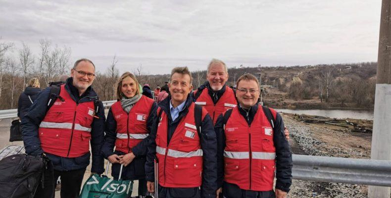 Команда швейцарських експертів здійснила дванадцяту місію на схід України