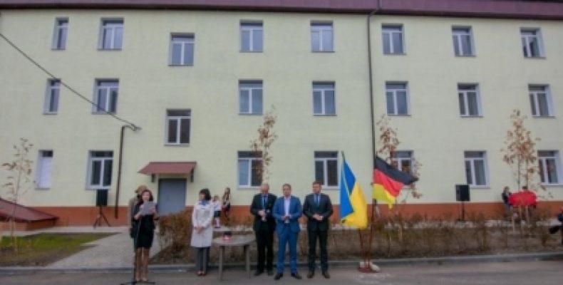 В Днепропетровской области открыли многоквартирный дом для переселенцев из Донбасса