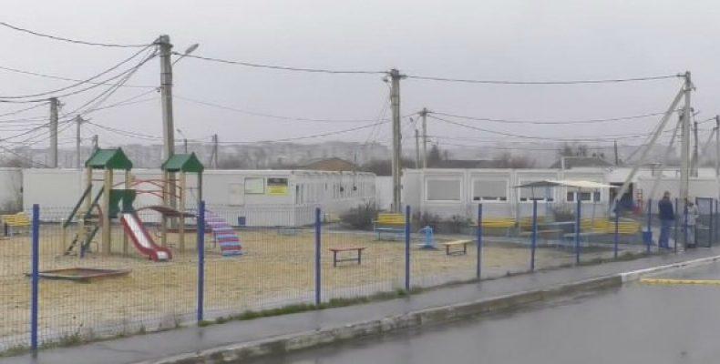 Срок эксплуатации истек 2 года назад: Как выживают переселенцы в модульном городке в Харькове