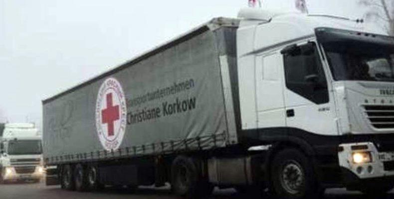 Для животных и людей: Красный Крест повез гумпомощь в «Л-ДНР»