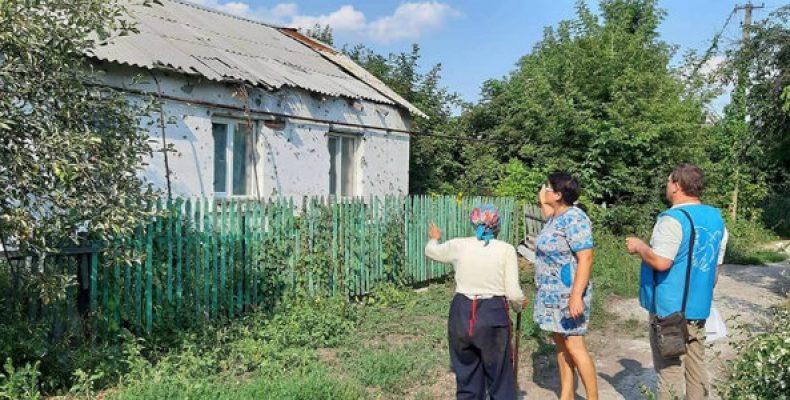 В Опытном начато восстановление разрушенного войной жилья
