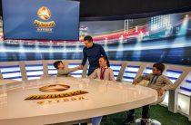 Дети-переселенцы посетили студию канала Футбол