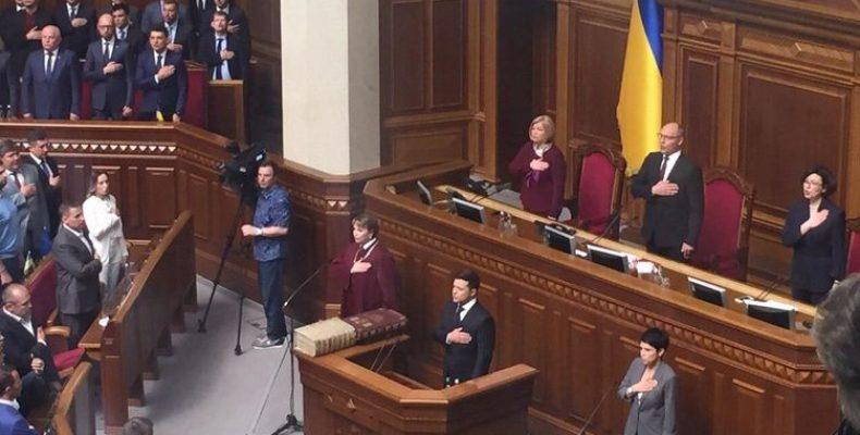 Инаугурация Владимира Зеленского. Президент распускает Раду